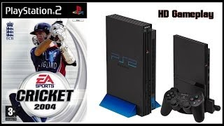 Cricket 2004 (PS2)(2003) Gameplay (HD)