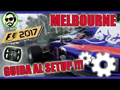 F1 2017 - GUIDA AL SETUP - MELBOURNE - TORO ROSSO