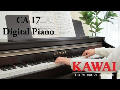 KAWAI CA17 Digital Piano DEMO - ENGLISH