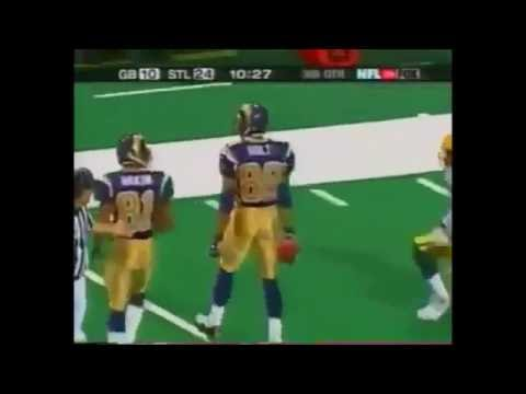 Kurt Warner to Torry Holt (Packers vs Rams 2001 NFC Divisional Playoff Game)