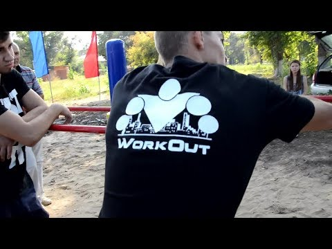 WorkOut ENGELS - Открытие площадки в Энгельсе