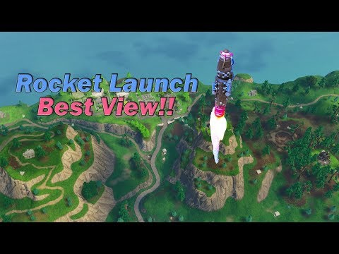 Rocket Launch Epic View (Fortnite) / انفجااااار الصارووووخ فورتنايت