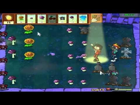 Plants vs zombies (Trồng cây bắn zombie) - Cấp độ 2-8 (Game Việt Hóa)