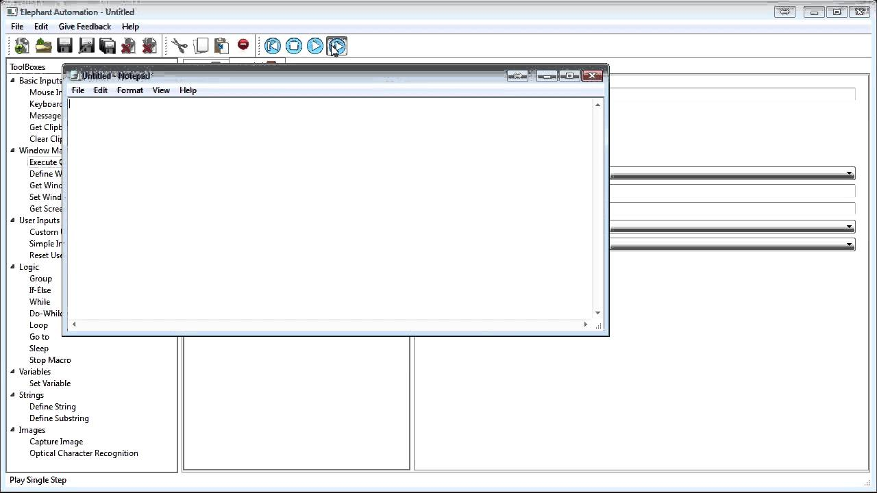 Automatic Mouse Click - Using the Mouse in your Elephant Automation Macro