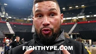 TONY BELLEW IMMEDIATE REACTION TO GEORGE GROVES BEATING CHRIS EUBANK JR. VIA UNANIMOUS DECISION