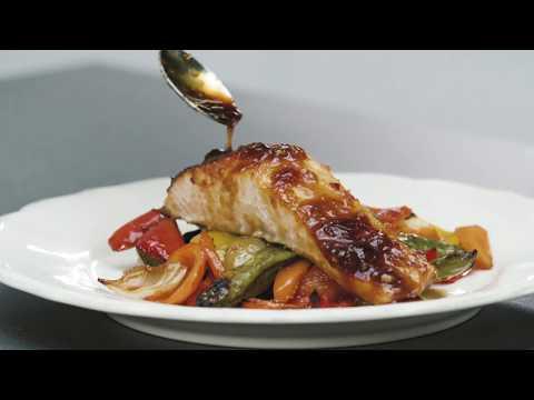 One Pan Thai Glazed Salmon & Vegetables