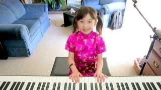 Gong Xi Gong Xi (恭喜恭喜) on piano