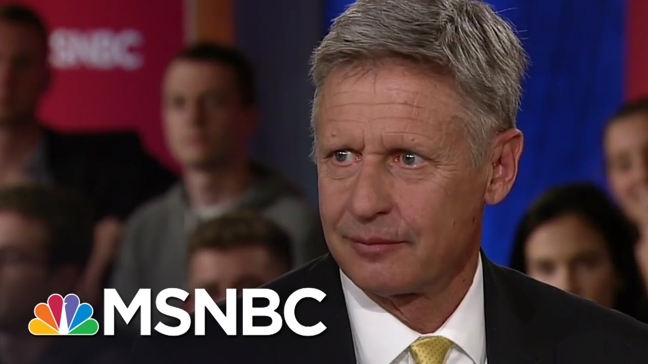 gary johnson know your