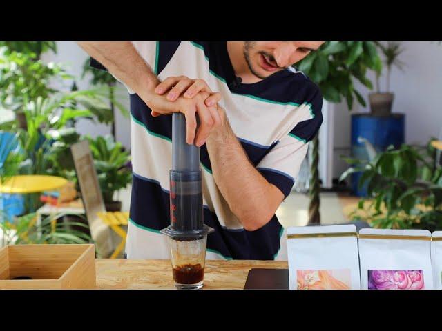 Jak zaparzyć kawę w Aeropressie