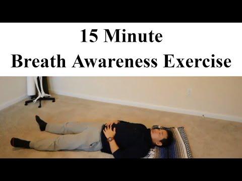 Breath/Breathing Awareness Feldenkrais Lesson: Improve Mind Body Connection