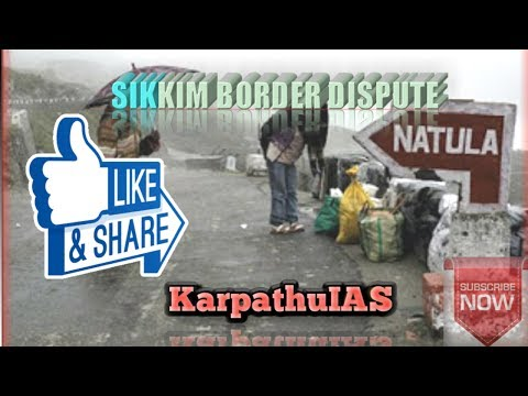 What's going on India(Sikkim) - China Border Dispute