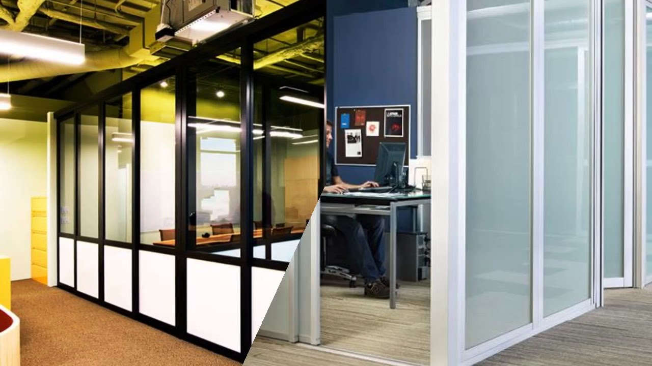 Glass Office Partitions Design Ideas - YouTube