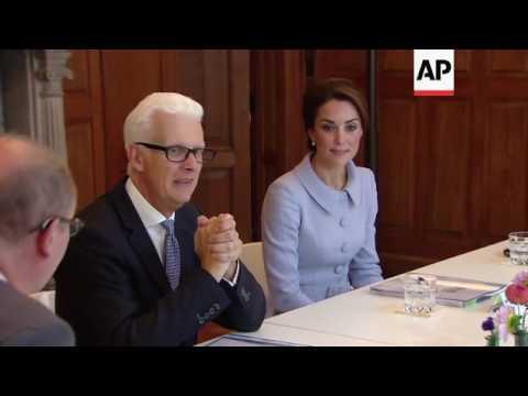 UK Duchess meets members of Dutch charities