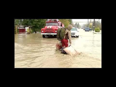 Наводнение в Апшеронске