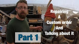 Repairing A Custom Order And Talking About Pricing.