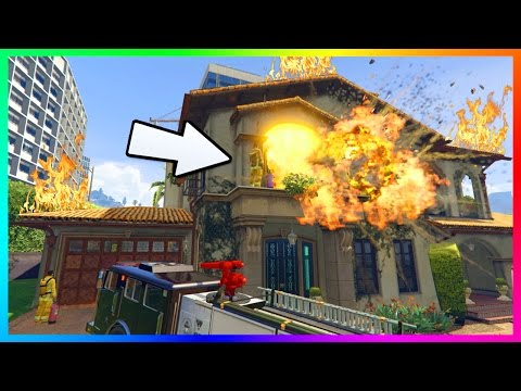 GTA 5 SECRETS - DID YOU KNOW MICHAEL'S HOUSE CAN BE DESTROYED, MISSING ROOMS & MYSTERIOUS FEATURES!