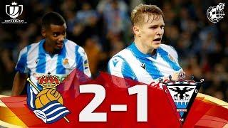 Copa del Rey | Resumen | Real Sociedad 2 - CD Mirandés 1 (Semifinales - Partido de ida)