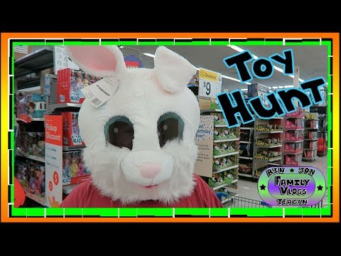 NEW TOYS!! Walmart TOY HUNT! 8.14.2017 | Bin and Jon's Daily Vlogs