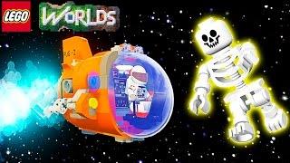 LEGO Worlds Відео про героїв Лего літаємо на ракеті їздимо на машинах у величезному світі ЛЕГО 2