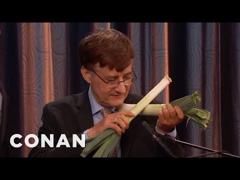 Dr. Dale Stuckenbruck Introduces Conan To His Vegetable Orchestra  - CONAN on TBS