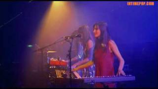 AU REVOIR SIMONE - Another Likely Story / Concert INTIMEPOP 20-3