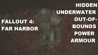 fallout 4 far harbor hidden out of bounds power armour