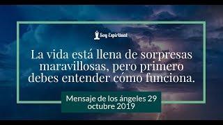 Tu mensaje de los ángeles para hoy 29 octubre 2019