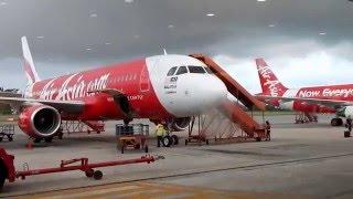 nikon coolpix l830 video test with air asia plane