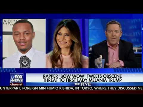 FOX News : The FIVE - Greg Gutfeld's response to BOW WOW's Tweet to Melania TRUMP