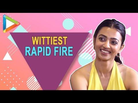 DON鈥橳 MISS: Radhika Apte鈥檚 Most ENTERTAINING Rapid Fire | Talking Films