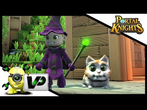 Two New Pets!!! Tabby Cat And Frog Ep.4 Portal Knights