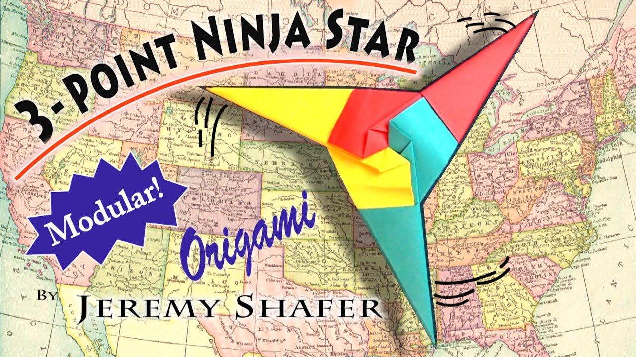 Origami Ninja Star 6 Point Instructions On Diagram 8 Pointed Shuriken In
