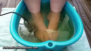 How Footbath Detox Works - Like A Turkey!