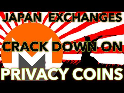 Japan Cracks Down On Crypto Exchanges And Privacy Coins