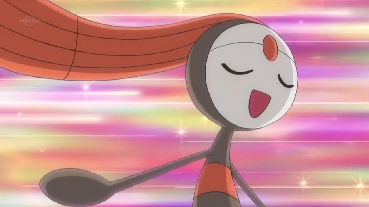 Pokemon Best Wishes - Series 2: Meloetta Form Change Extended ...