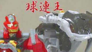 宇宙戦隊キュウレンジャー ミニプラ キュータマ合体シリーズ02 3.4.5.6 キュウレンオー 紹介 Kyuranger Minipla Kyurenoh Review thumbnail