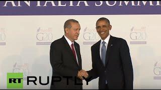 Turkey: Erdogan welcomes the leaders ahead as G20 kicks-off