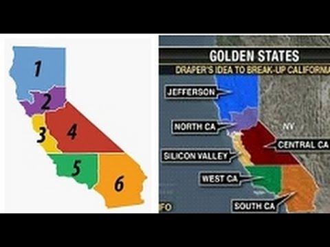 Will California Splinter Into 6 States Youtube
