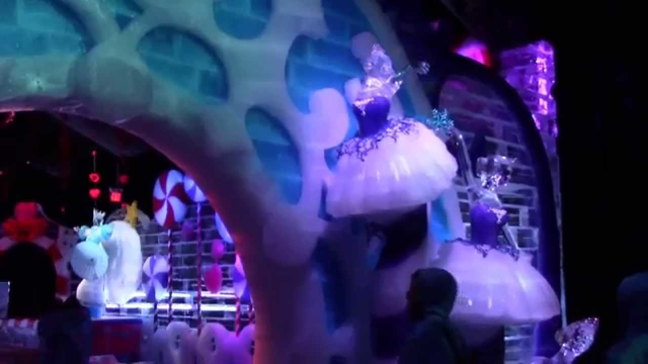 ICE! Featuring The Nutcracker at Gaylord Palms Christmas Orlando 2014 - YouTube