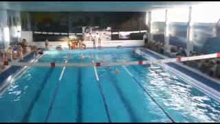 Женская эстафета в бассейне Зима|лето