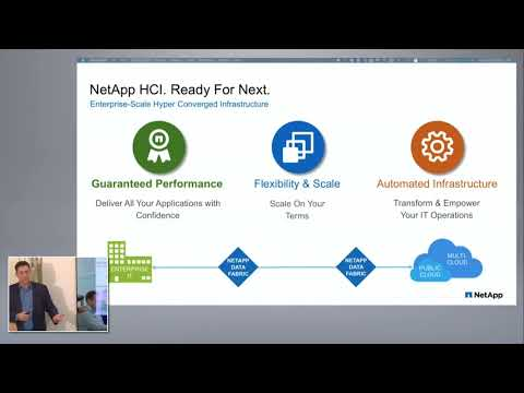 NetApp Enterprise Scale Hyperconverged Infrastructure with Gabriel Chapman