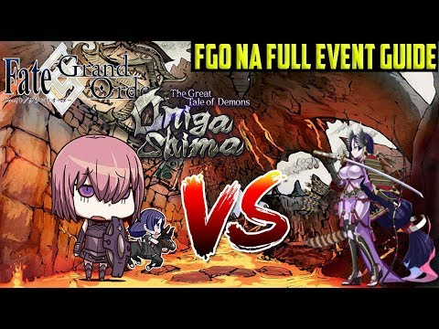 FGO NA Onigashima COMPLETE Event Guide, Tips & Farming