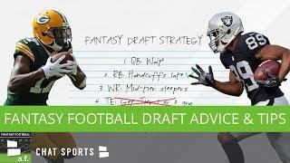 Fantasy Football Draft Advice & Tips To Help Win Your League