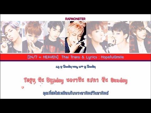 [Karaoke - Thaisub] BTS (방탄소년단) – 24/7 = HEAVEN