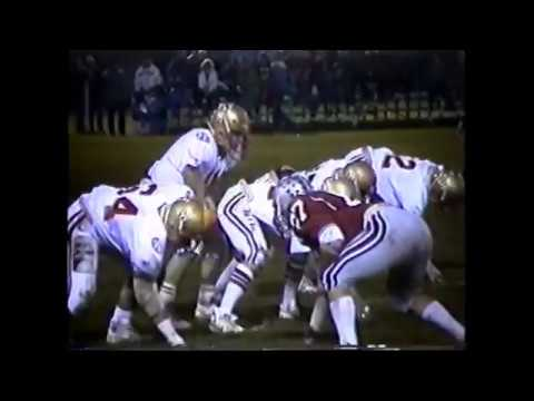 1986 Salamanca Warriors vs. Olean Huskies (Full)
