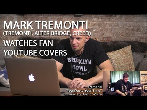 Mark Tremonti (ALTER BRIDGE, CREED) Watches Fan YouTube Covers | MetalSucks