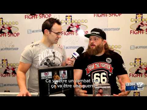 Interview de Roy Nelson [UFC Abu Dhabi]