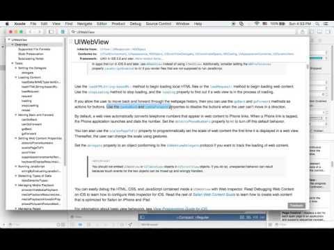 아이폰 ios swift 강좌 - 웹브라우저 만들기 #9