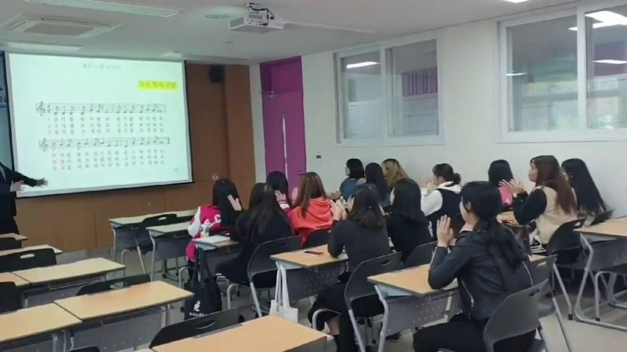 경동대학교 김범교수의 생존수영표준화교육과정을 위한 생존수영 송