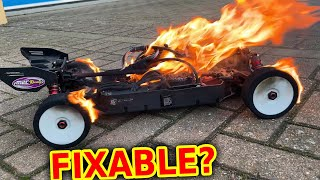 can we fix the 100mph World Record RC Long Jump Car?